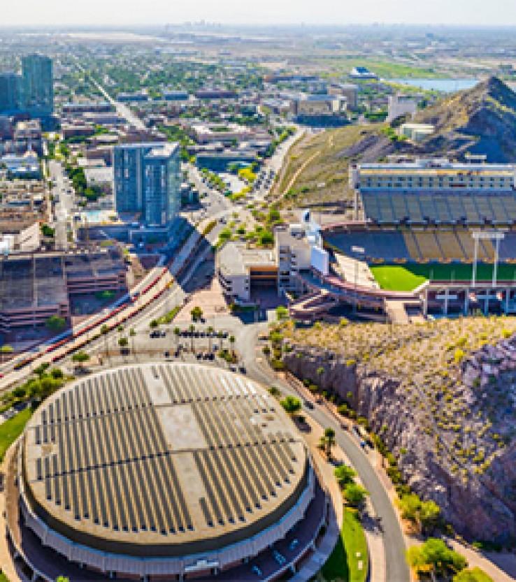 Sun Devil Stadium and Tempe, Arizona
